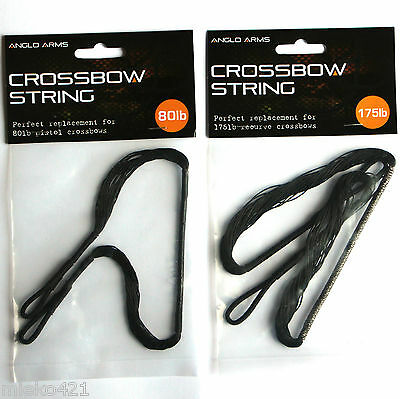 Anglo Arms Replacement 50-80lb or 150-175lb Recurve Crossbow Strings