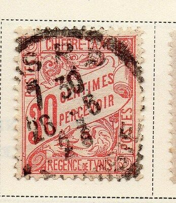 Tunisia 1901-03 Postage Due Early Issue Fine Used 30c. 144791