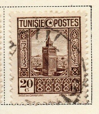 Tunisia 1931 Early Issue Fine Used 20c. 144804
