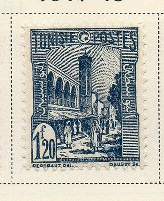 Tunisia 1941-45 Early Issue Fine Used 1F.20c. 144852