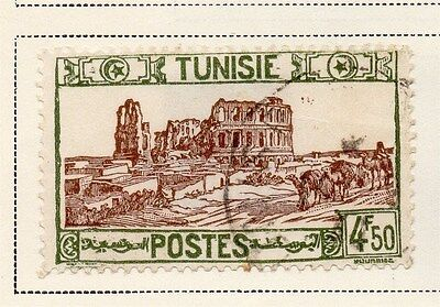 Tunisia 1941-45 Early Issue Fine Used 4F.50c. 144858