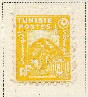 Tunisia 1943-45 Early Issue Fine Mint Hinged 30c. 144861