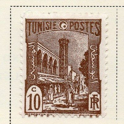 Tunisia 1942-46 Early Issue Fine Mint Hinged 10c. 144829