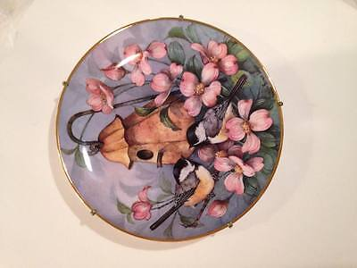 The Franklin Mint Heirloom - Royal Doulton Chickadees' Castle