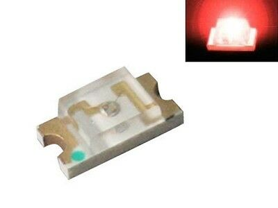 S919 - 50 pezzi SMD LED 1206 rosso LED red