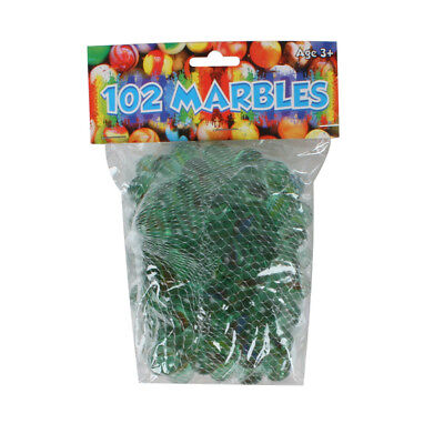 12 marble bags 102 traditional marbles in each so that's 1,224 marbles