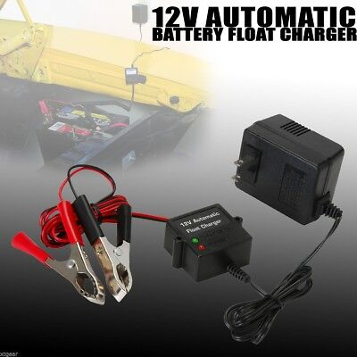 Automatic 12 Volt Battery Float Trickle Charger Car Auto Truck 12v Tender