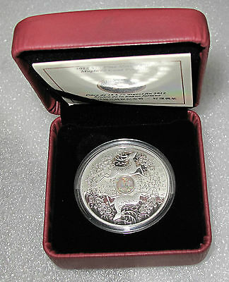 2012 Canada $15 Dollars Maple Of Good Fortune 1 Oz -.9999  Coa #758 From 8888