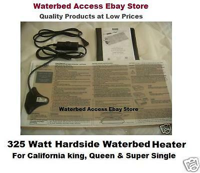 Waterbed Heater for California king, queen & super single hardside water beds