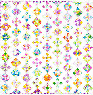 Bubble & Squeak - fun & easy pieced quilt PATTERN - Emma Jean Jansen