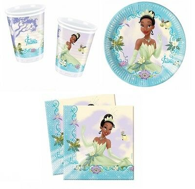 Princess & The Frog ~ Tiana ~ Birthday Party Supplies - Tableware & Decoration