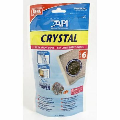 API Rena Crystal / Bio-chem Zorb Size 6 315ml Aquarium Water Treatment
