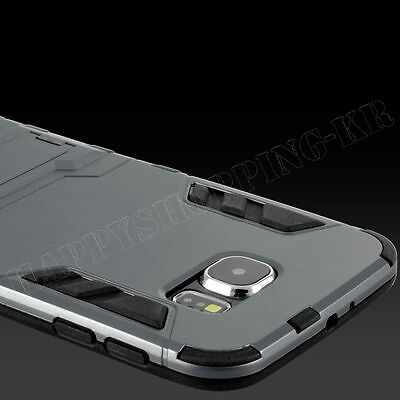 Luxury Ultra Thin Shockproof Rugged Hybrid Rubber Cover Case For Samsung iPhone