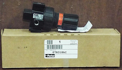 "1 New Parker 07R318Ac 1/2"" Regulator Nib ***Make Offer***"
