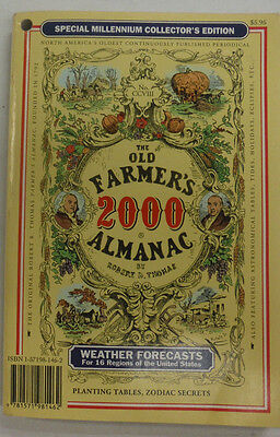 The Old Farmer's Almanac SS Magazine Weather Forecasts 2000 060415R