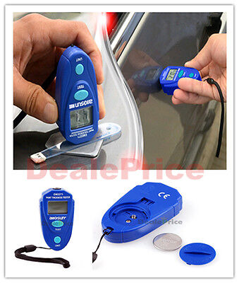 Digital  LCD Car AUTO Coating Gauge Painting Thickness Tester 0-80mil  0.1MM NEW