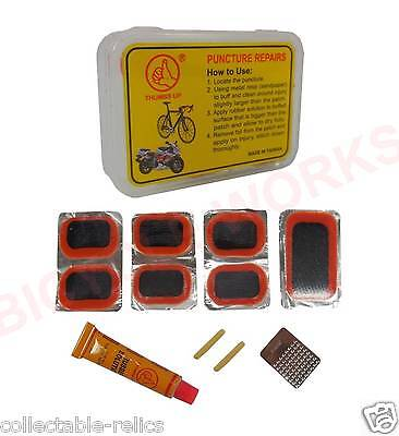 1X Puncture Repair Kits Glue Solution Adhesive Patch Tyre Bike Bicycle Tube 759