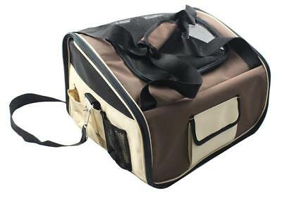 Dog Cat Pet Car Seat Safety Travel Carrier Bag Shoulder Handbag Small Medium