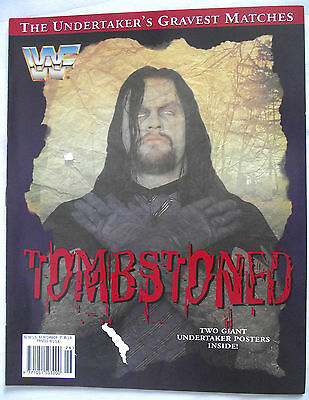 Wwf Tombstoned / Undertakers Greatest Matches / With 2 Giant Undertaker Posters
