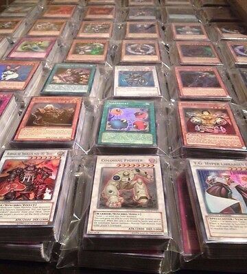 50 Card Yugioh Card Lot Comes With Holo Foils & Rares! Fast Shipping!