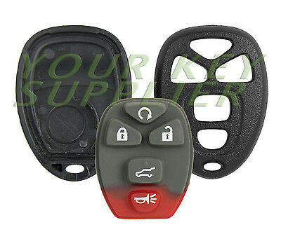 New Replacement Keyless Entry Remote Key Fob Shell Case 5 Button Pad OUC60270