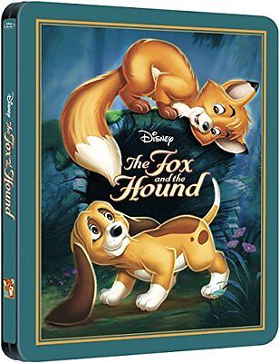 NEW The Fox and the Hound (Limited Edition SteelBook) (Blu-ray)