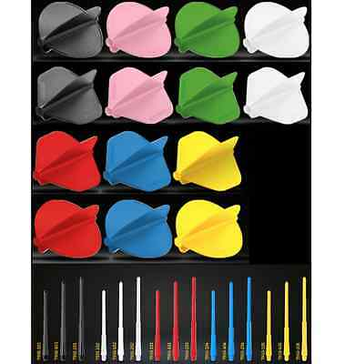 WINMAU STEALTH DART FLIGHTS STEMS SHAFTS SYSTEM - Choose From 7 Colours / Shapes