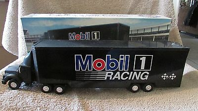 Mobil Toy Race Car Carrier - 1994 - Limited Edition - NIB!!!  (SKP)