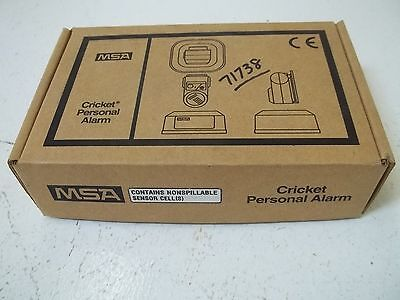 Cricket Personal Alarm 80475 H2S 5Ppm-15Ppm *new In A Box*