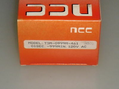 Ncc Solid-State Time Delay Relay T3M-0999M-461 *new In Box*