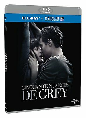 Cinquante nuances de Grey  [Blu-ray + Copie digitale] - NEUF