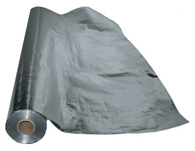 "500 sqft Reflective Radiant Barrier Attic Foil Insulation 25.5"" solid Rafter CuT"