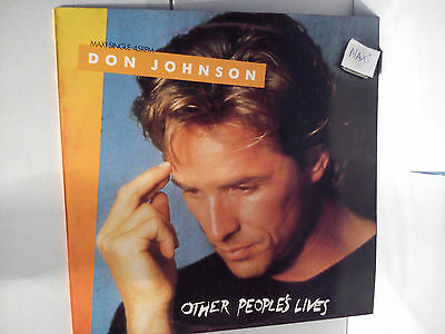 Don Johnson - Other people`s lives.......................Maxi-Vinyl