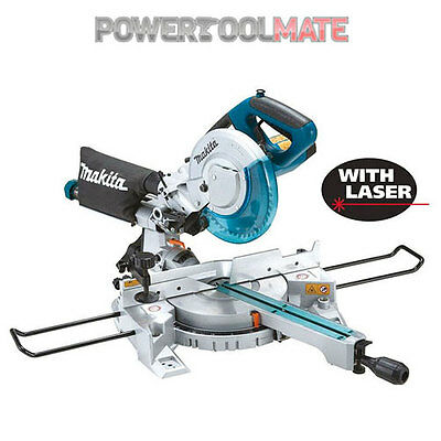 Makita LS0815FL 110v 216mm Sliding Compound Mitre Saw with Integrated Laser