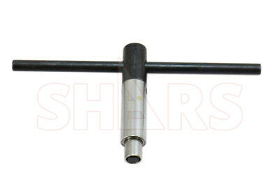 """SHARS 1/4"""" Self-Ejecting Key for 3"""" & 4"""" Lathe Chuck  NEW"""