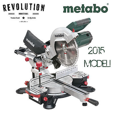 NEW MODEL Metabo 254mm Crosscut Sliding Compound Mitre Saw KGS 254 M