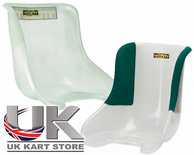 Tillett Seat T11 Standard Black 1/4 Cover Manetti UK KART STORE