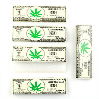 HORNET Ultra Thin Hemp Cigarette Rolling Papers 108*55mm King Size 5 Booklets