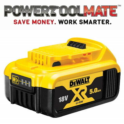 Genuine Dewalt DCB184 18v XR 5ah slide battery