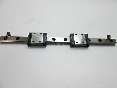 IKO LWL7B Linear Bearing With 2 Carriages, 149mm Long Rail