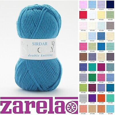 Sirdar Snuggly DK Double Knitting Wool/Yarn - 50g - ***ALL COLOURS***