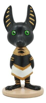 """Ancient Egyptian Weegyptians Collectible Anubis Small Figurine 4"""" Tall Decor"""