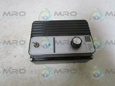 Bodine 835 Motor Speed Controller  *used*