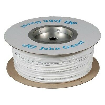 "John Guest 1/4"" LLDPE Fridge Filter Tubing / Water Pipe / Hose - 20 Metres White"