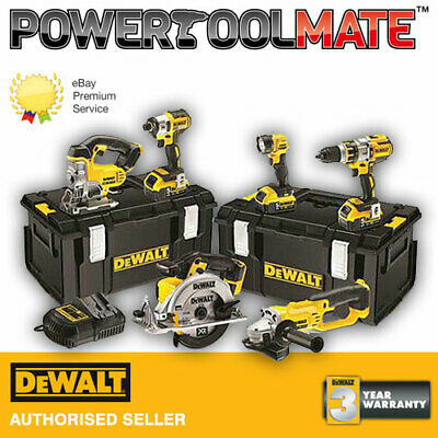 Dewalt DCK694P3 XR 18v 6 piece brushless 3 speed kit 3 x 5ah batteries