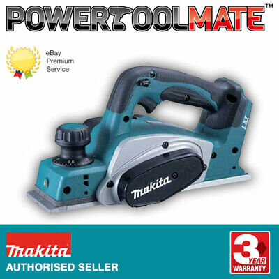 Makita DKP180Z 18V Cordless LXT Planer Naked Body Only ex BKP180Z