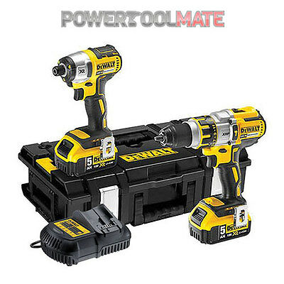 Dewalt DCK255P2 18V XRP brushless combo kit DCD995/DCF886 2x5ah batts
