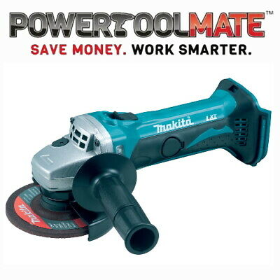 Makita DGA452Z 18V LXT Cordless Grinder Naked Body Only ex BGA452Z