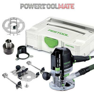 "Festool 574345 OF1400 EBQ-PLUS 1/2"" 240V Plunge Router c/w Systainer"
