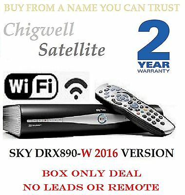 Sky + Plus Hd Box Wifi - 500Gb - Amstrad Drx890W Built In Wireless On Demand